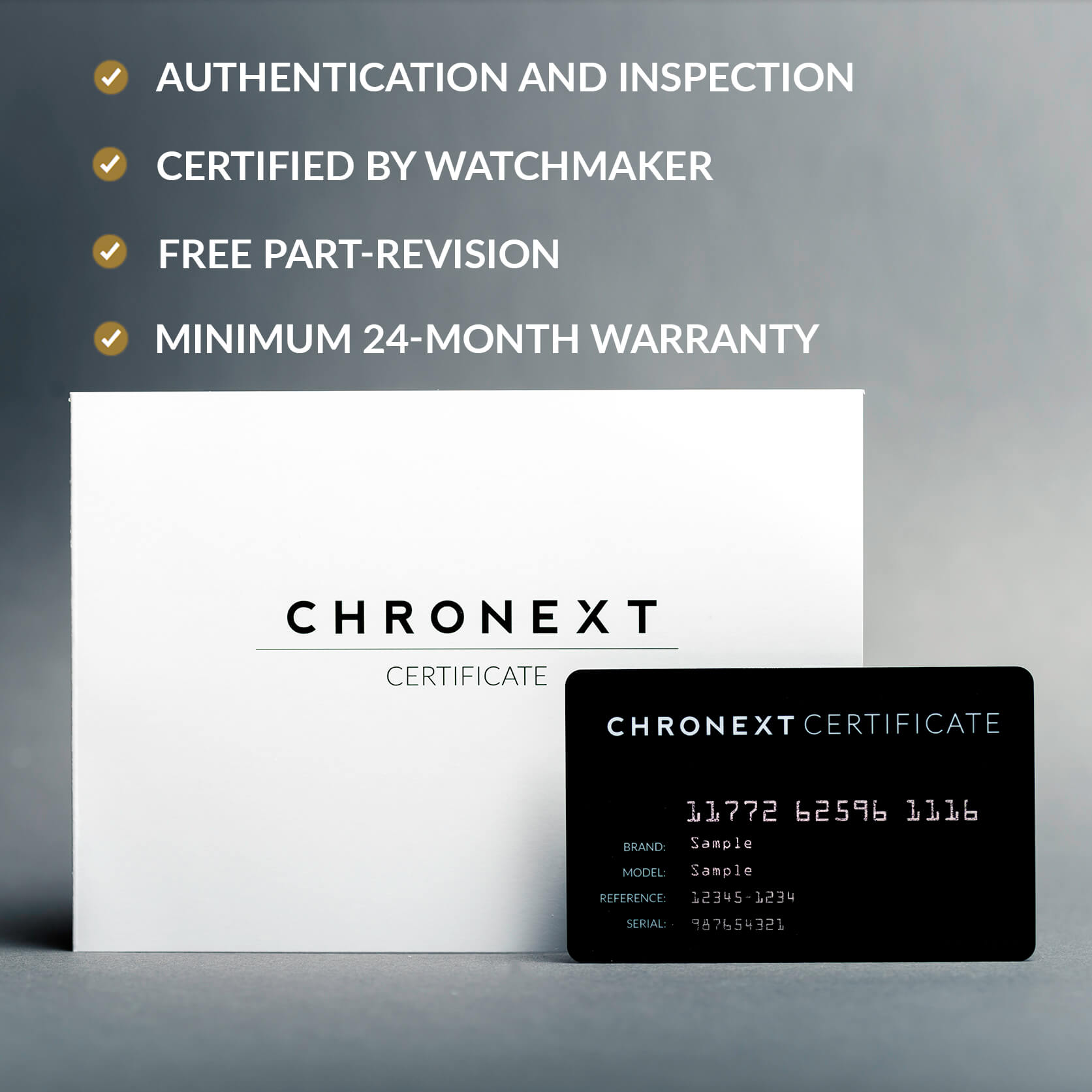 Our Chronext certificate